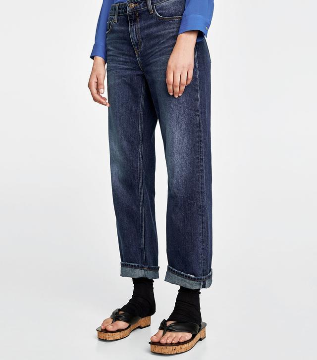 Zara Straight Leg Jeans