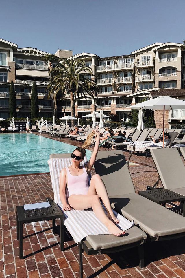 Summer swimwear trend Kristen Marie Nichols