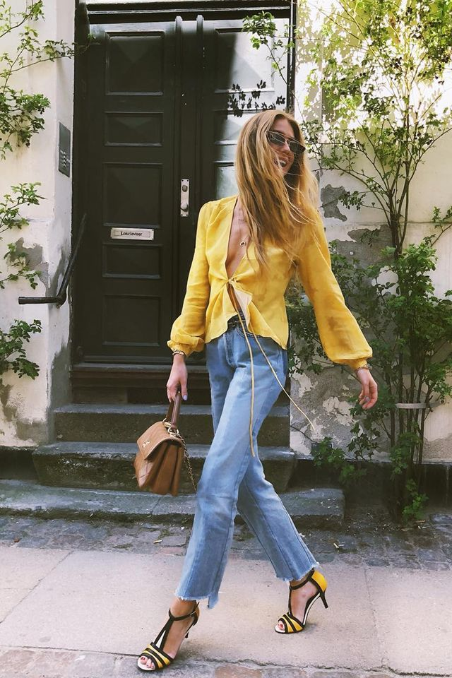 spring jeans outfits