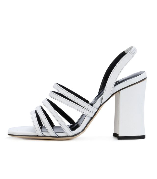 Strappy Block-Heel Sandals