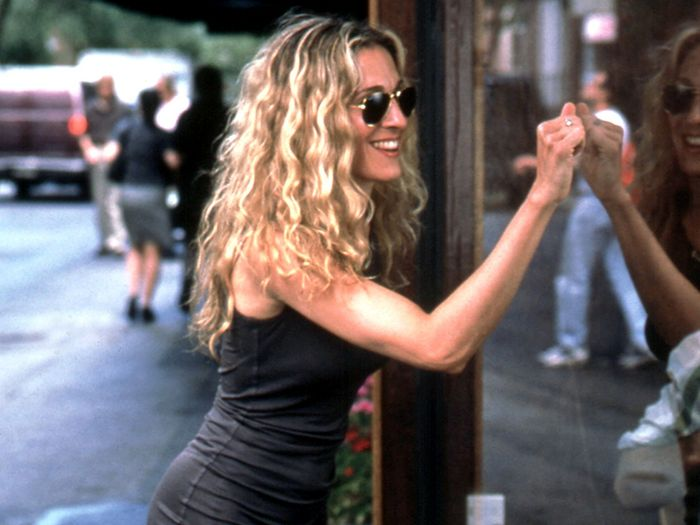 Carrie Bradshaw summer style