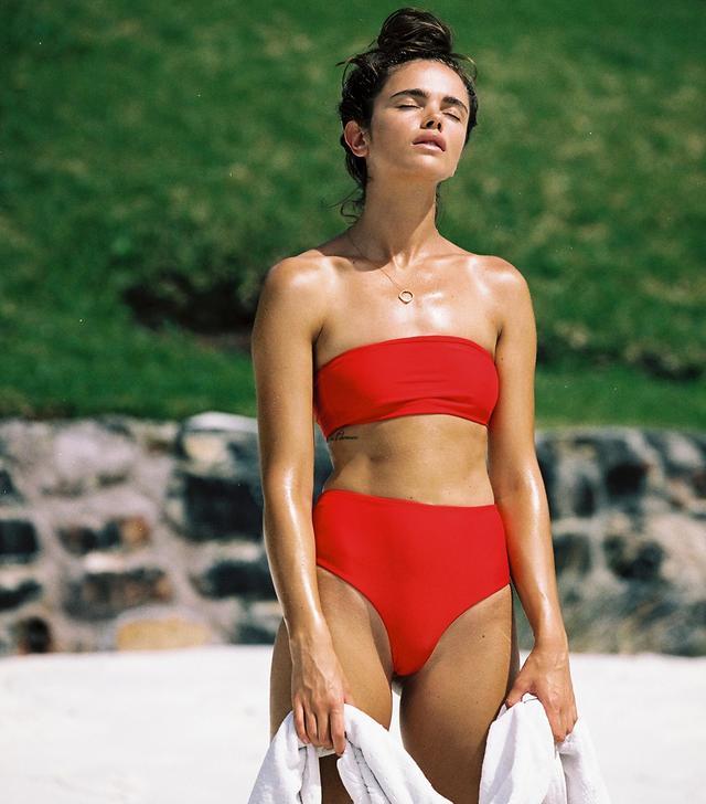 Juillet Swimwear Sari Top - Scarlet