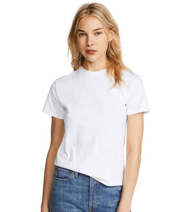 The best non see through white t shirts whowhatwear au for White t shirts that aren t see through