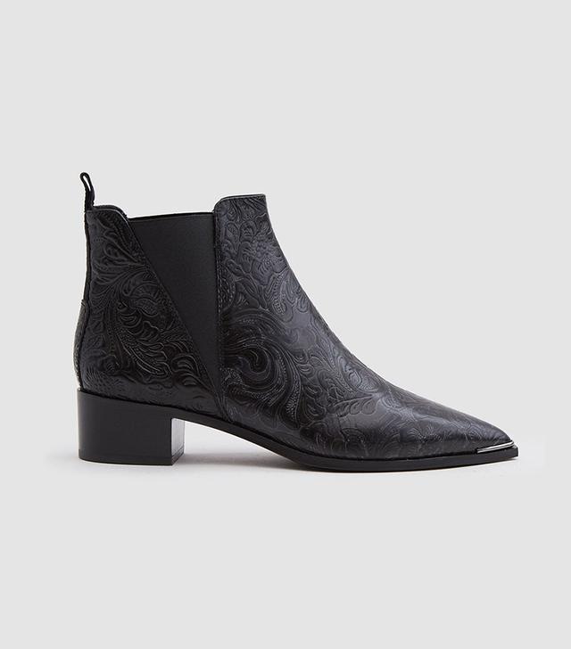 Jenson Floral Boot in Black