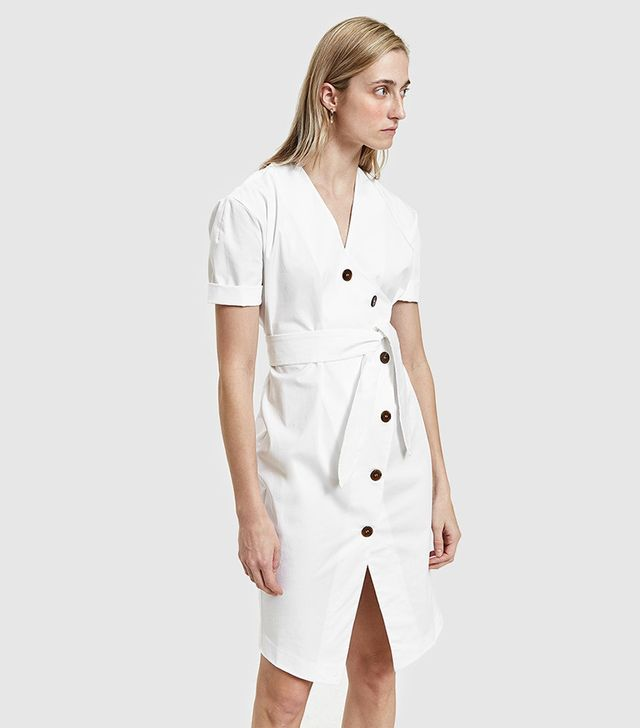 Faith Dress in White
