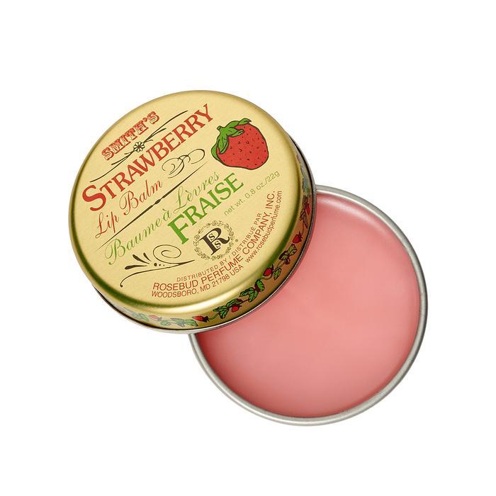 Smith's Strawberry Lip Balm by Rosebud Perfume Co.