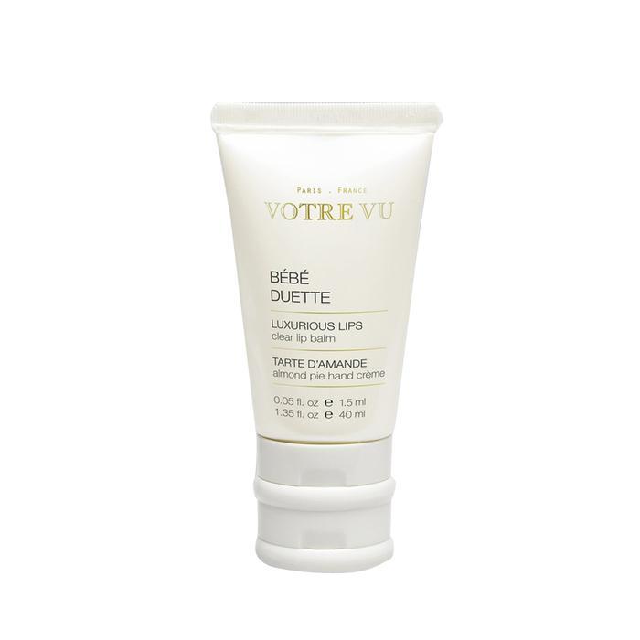 Bébé Duette Lip Balm & Hand Crème in Raspberry by Votre Vu