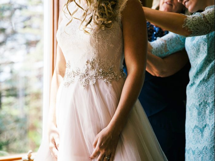 The Top Wedding Dress Alteration Tips Who What Wear