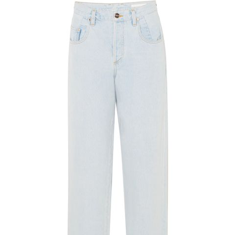 The Upsize Mid-Rise Wide-Leg Jeans