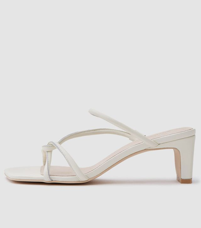Willow Heel in Cream