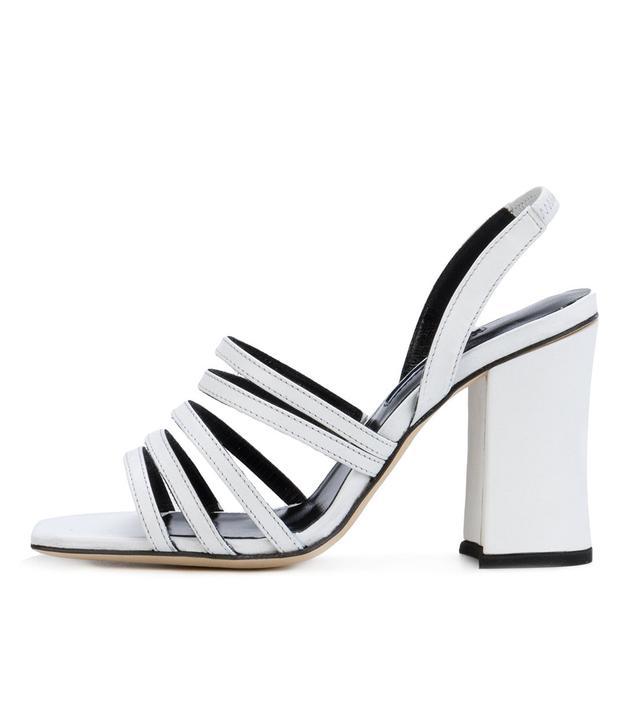 Strappy Block-Heel Sandals