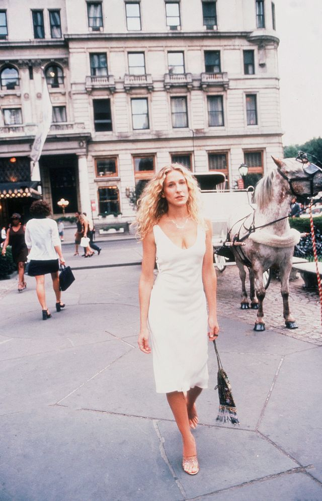 Carrie Bradshaw summer style PVC shoes
