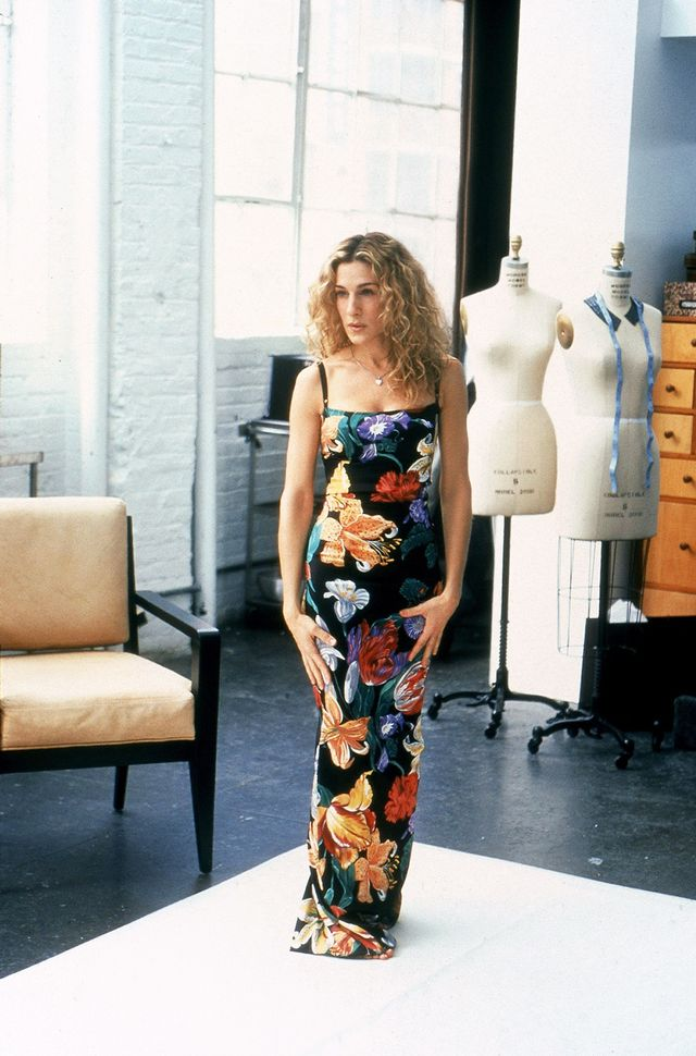 Carrie Bradshaw summer style square neckline
