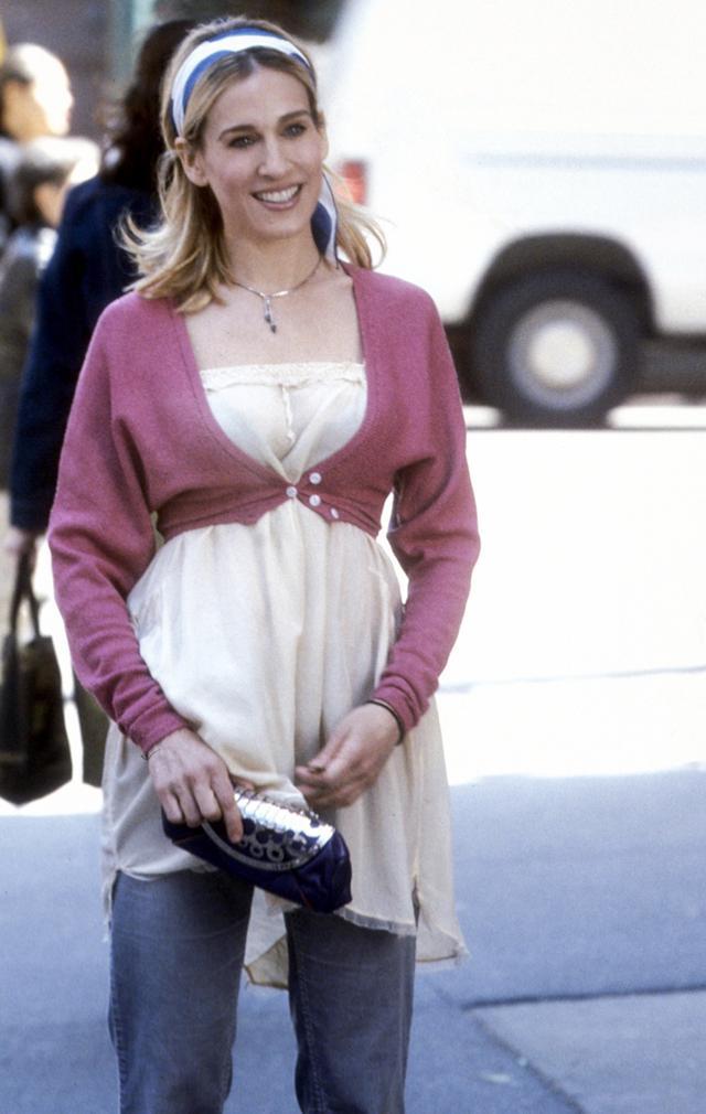 Carrie Bradshaw summer style headband