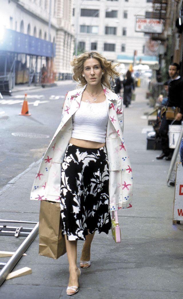 Carrie Bradshaw summer style strappy sandals