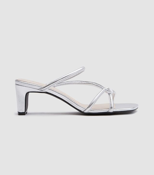Willow Heel in Silver