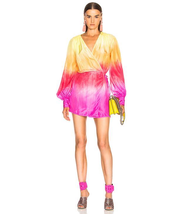 Attico Short Robe Dress