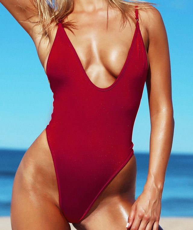 Gooseberry Intimates So Chic One Piece in Bahamas