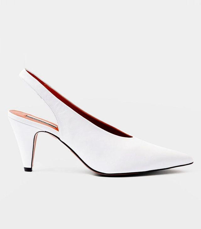 Topshop Jemma Pointed Slingback Shoes