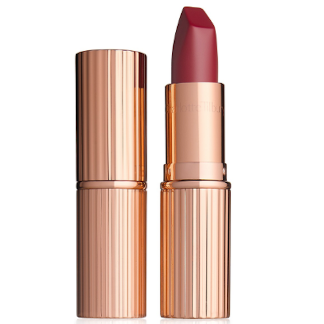 Matte Revolution Luminous Modern-Matte Lipstick in Red Carpet Red