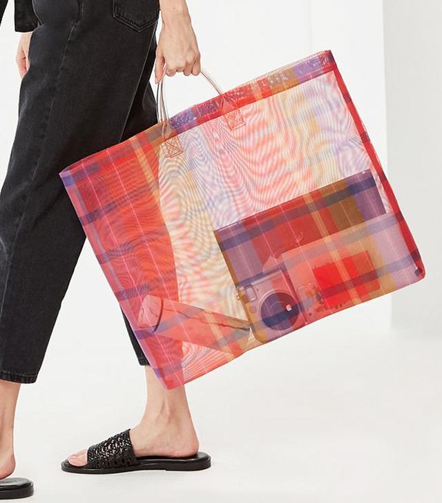 Extra-Large Mesh Tote Bag