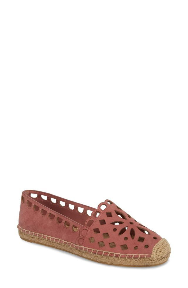 May Perforated Espadrille Flat