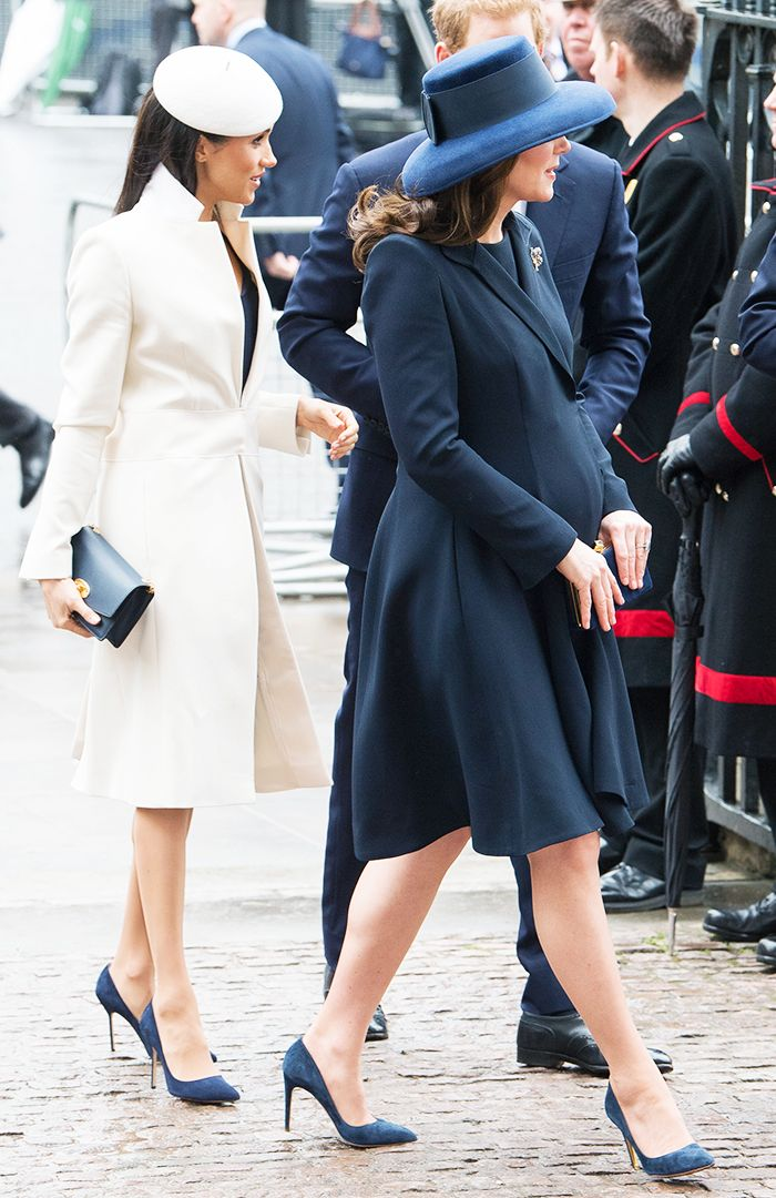 Meghan Markle style: Meghan Markle and the Duchess of Cambridge
