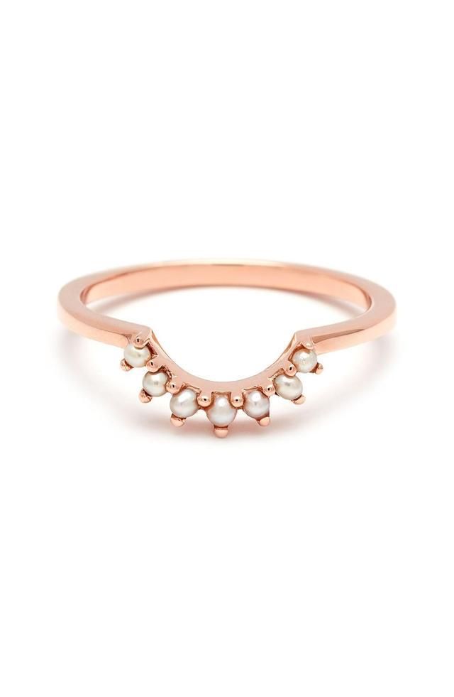 'Grand Tiara' Seed Pearl Ring