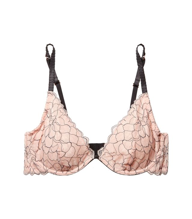 Rosario The Plunge Stretch-corded Lace Underwired Bra
