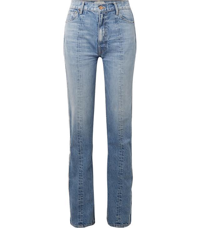 Billie Two-Tone Boyfriend Jeans