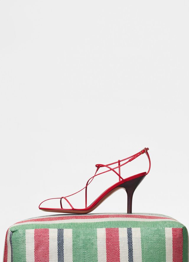 Céline Nude Sandals