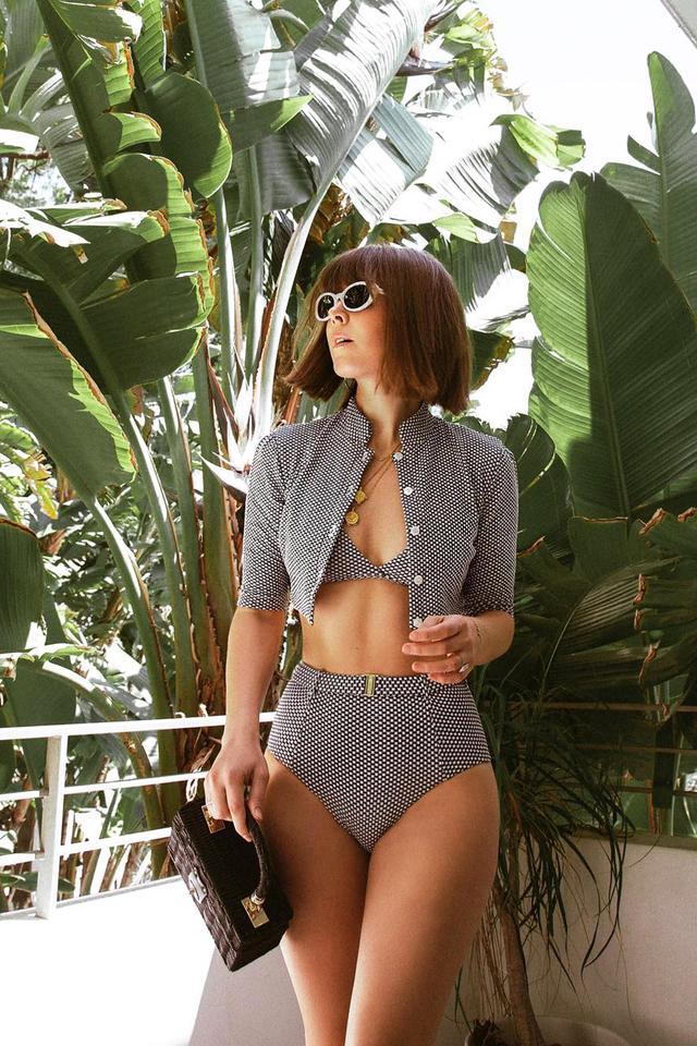 Swimsuit trends cardigan
