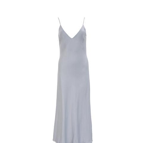Satin Tank Dress