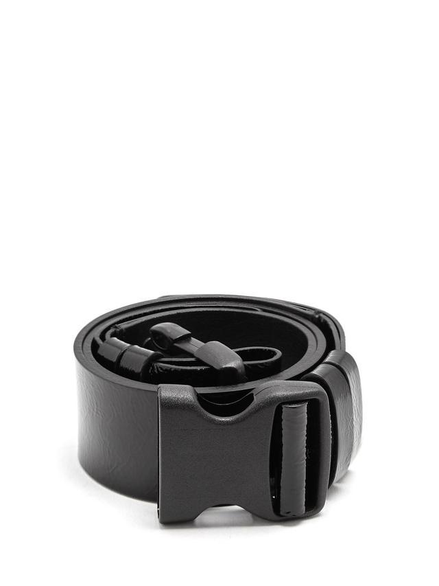 Zayo patent-leather belt