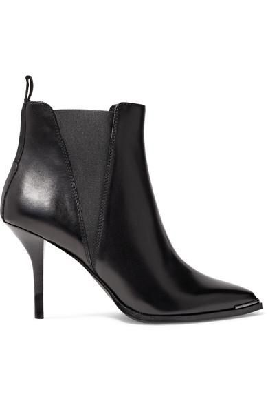 Jemma Leather Ankle Boots