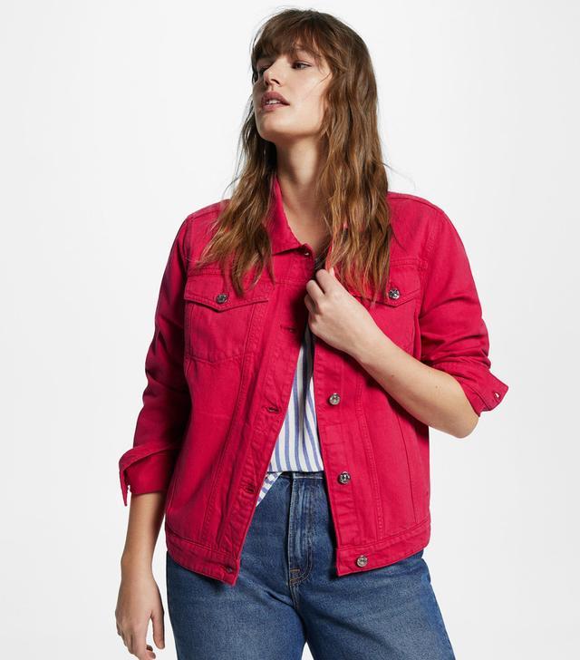 Violeta Color Denim Jacket