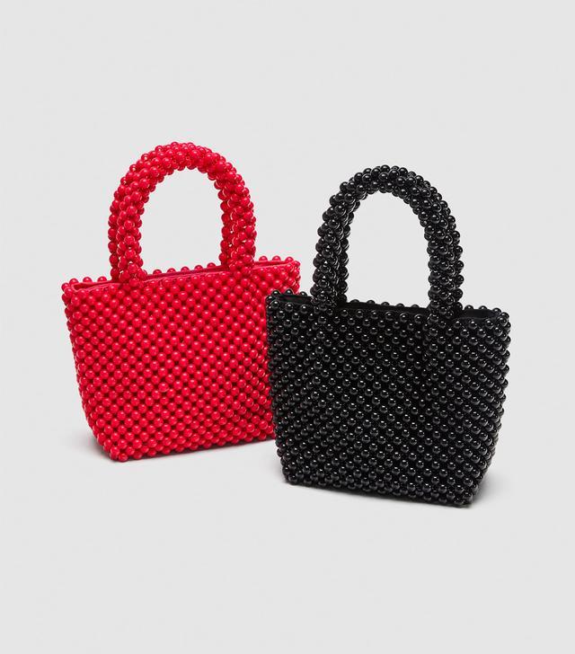Zara Mini Tote Bag With Studs