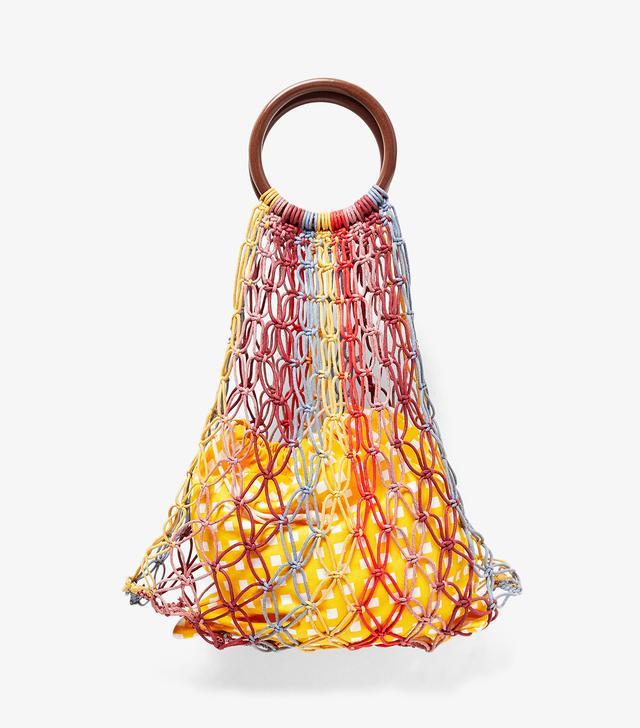 Zara Bag With Wooden Handles
