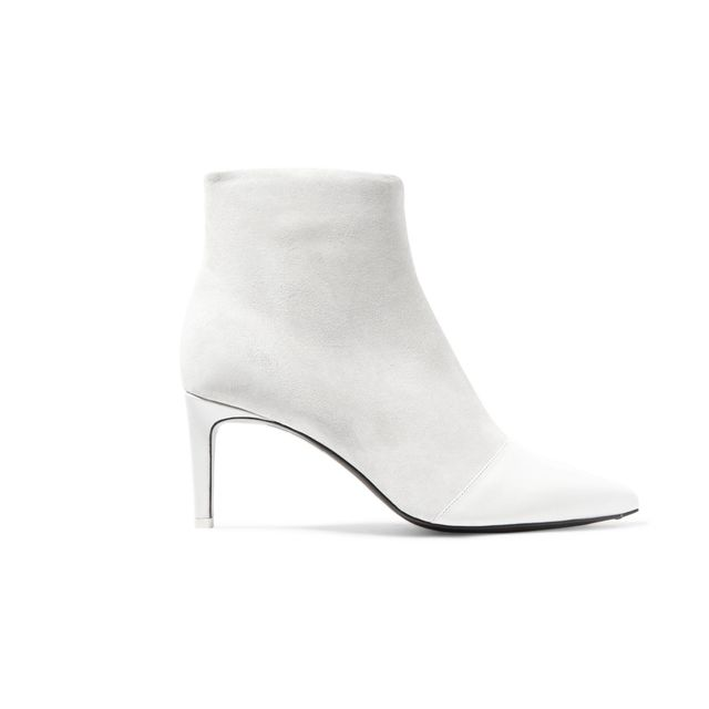 Rag & Bone Beha Panelled Leather and Suede Ankle Boots