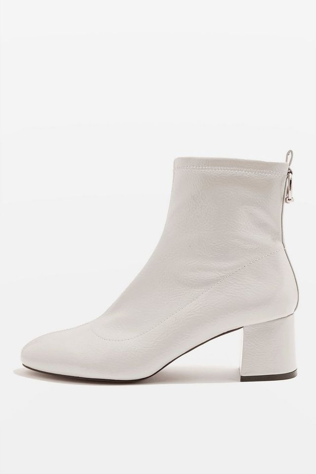 Topshop Sock Ankle Boots