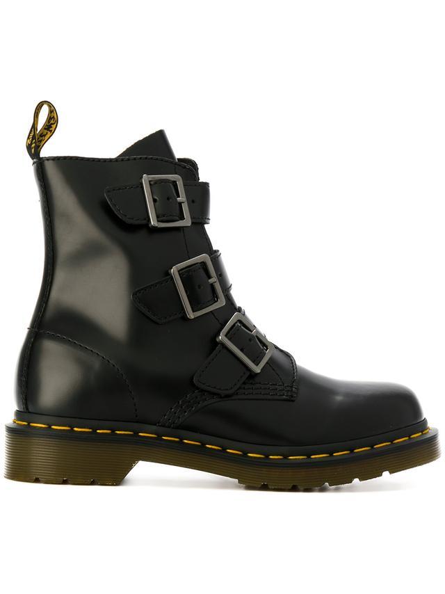 Dr. Martens Buckle Strap Boots