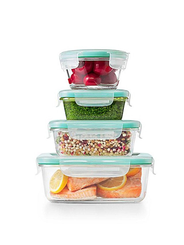 Good Grips 12-Piece Glass Container Set