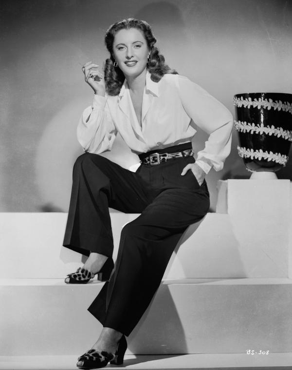 Barbara Stanwyck, 1945