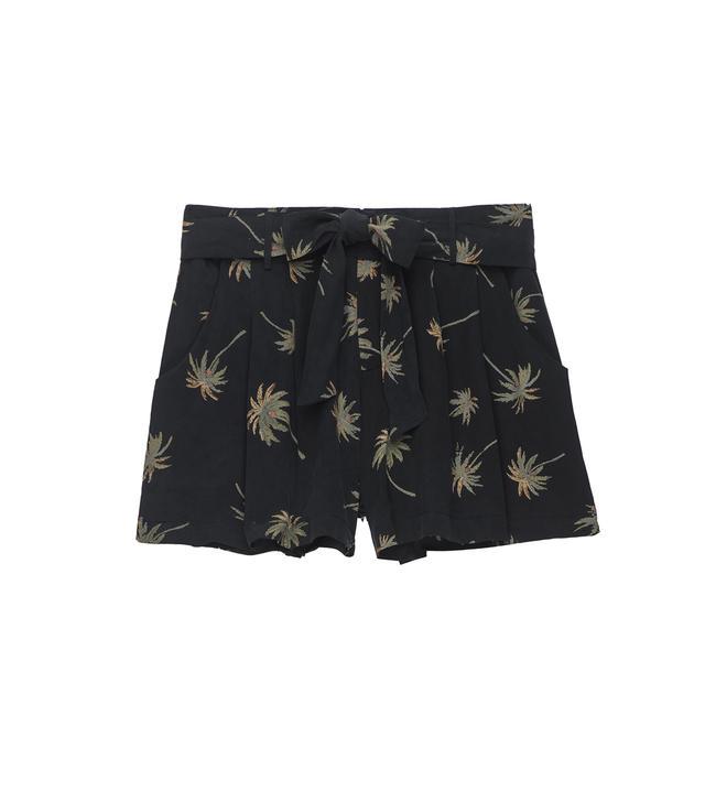 Rails Gigi Silk Vintage Palms Shorts