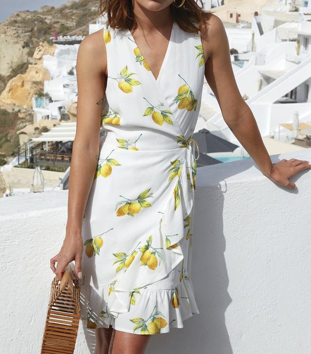 Rails Madison White Lemons Dress