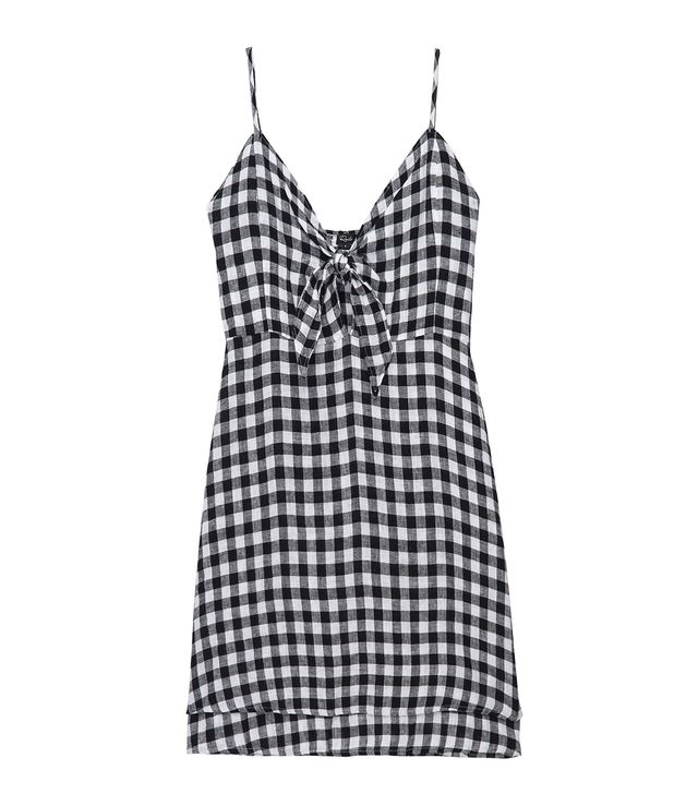 Rails August Black Gingham Dress