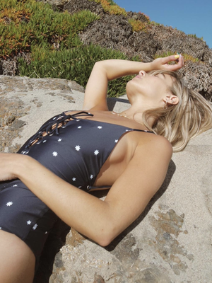 17 Stylish Lace-Up One-Piece Swimsuits to Wear to the Pool