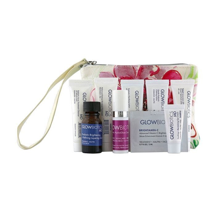 Probiotic Deluxe Trial Kit for Combination to Oily Skin by Glowbiotics