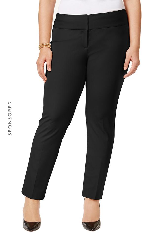 Alfani Straight Leg Trousers