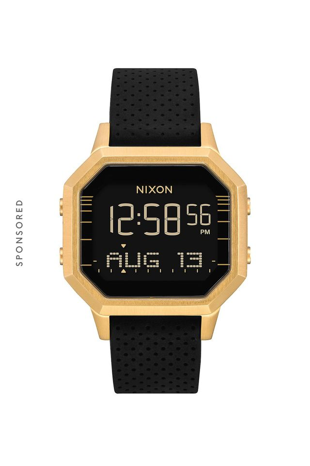 Nixon Siren SS, 36MM in Gold/Black